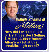 NY Times Best Selling $Million Author Robert Allen
