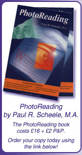 Photoreading Book by Paul Scheele